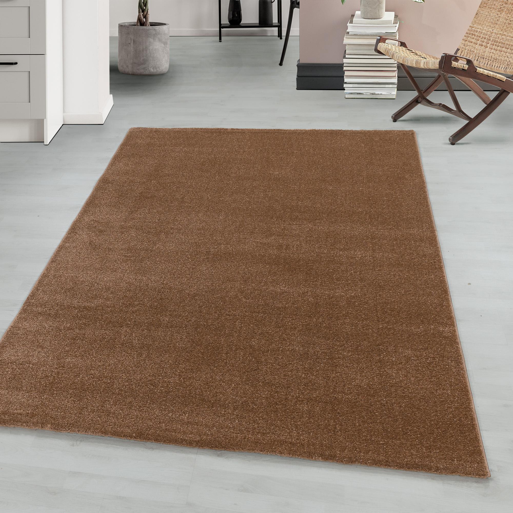 Kurzflor einfarbig Teppiche