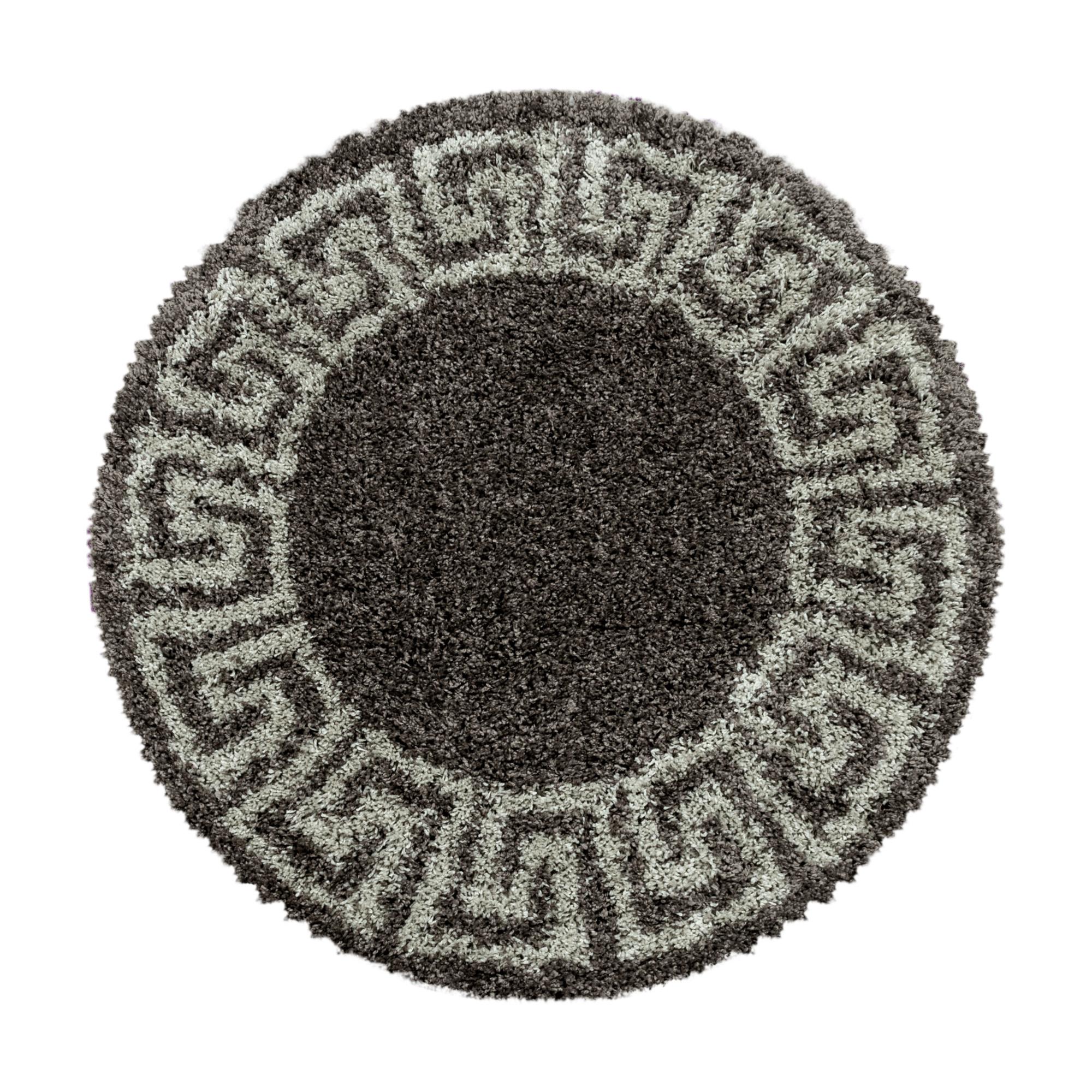 Hochflor Rund Teppiche